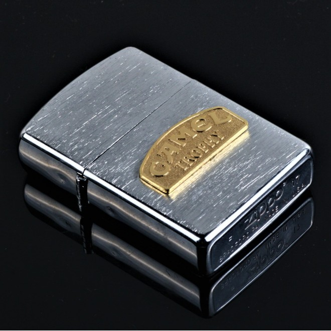 New Silver Camel Trophy Zippo Lighter