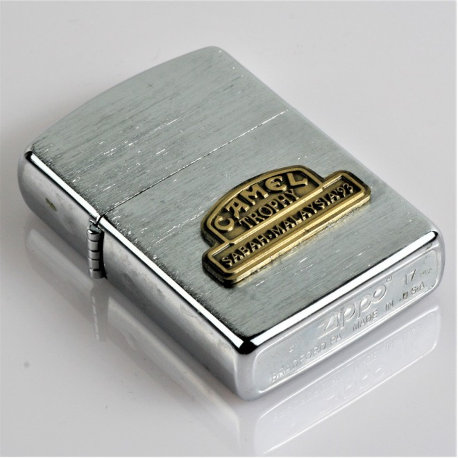 New Silver Camel Trophy Sabah Malaysia Edition Zippo Lighter