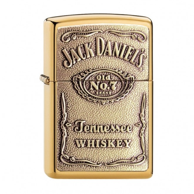 New Gold Jack Daniel no 7 Zippo Lighter