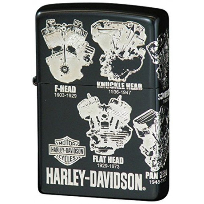 Harley Davidson Hdp-45 Japan Limited Edition Zippo Lighter