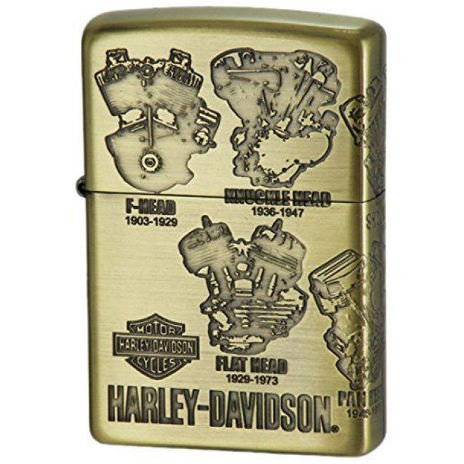 Harley Davidson Hdp-47 Japan Limited Edition Zippo Lighter