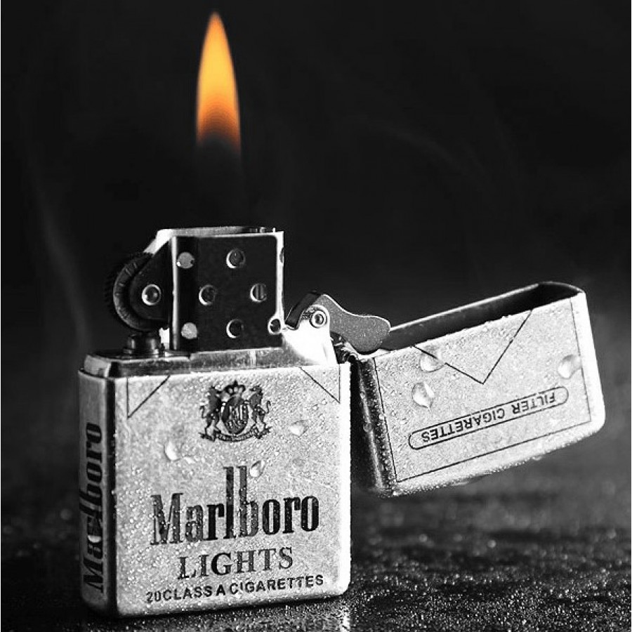 Ancient Tattoo Marlboro Zippo Lighter