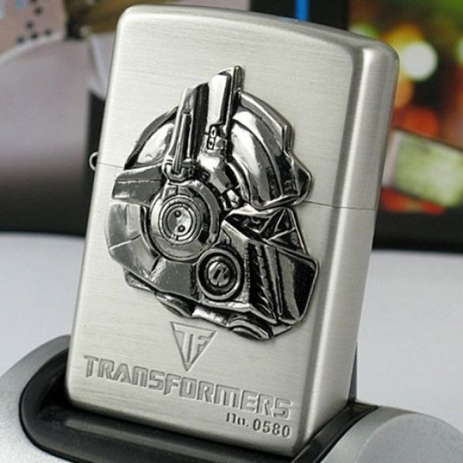 Silver Transformers Optimus Prime 1 Limited Edition Zippo Lighter