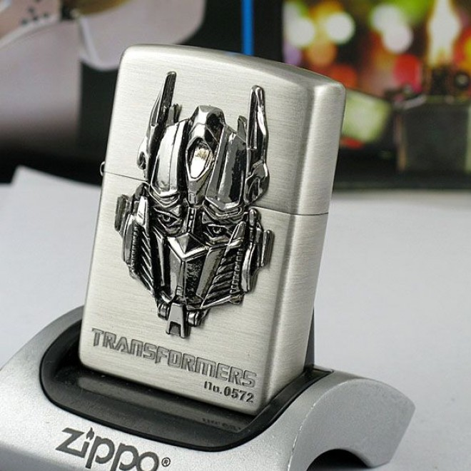 Transformers Optimus Prime 2 Limited Edition Zippo Lighter