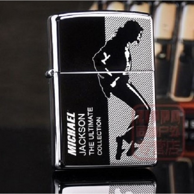 Black Ice Michael Jackson The Ultimate Collection Zippo Lighter