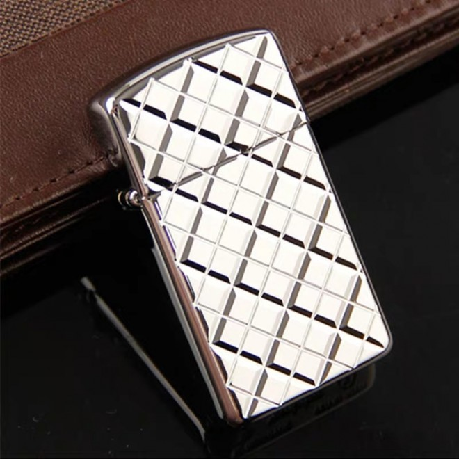 Argle 28581 Polish Armor Finish Slim Zippo Lighter