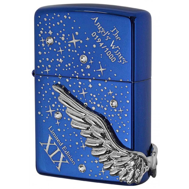 Blue Ice Cystal Spark Limited Edition Angel Wing