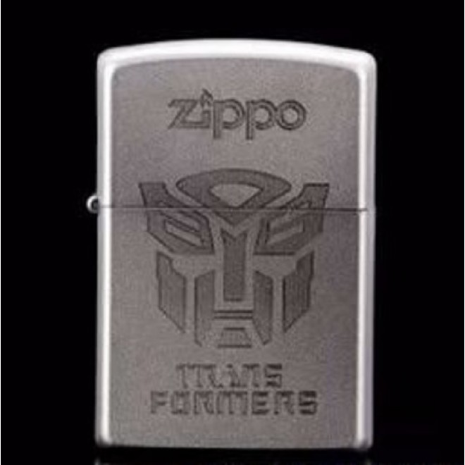 Transformer Chrome 205 Optimus Prime Zippo Lighter