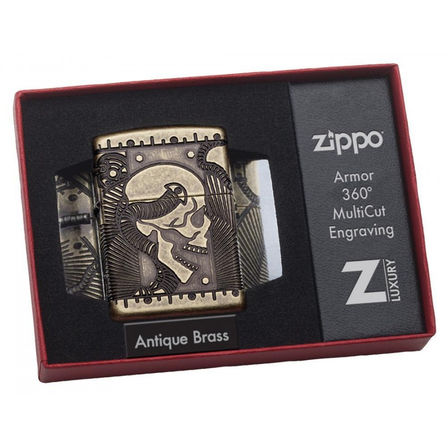 Steampunk Design 360° MultiCut 29268 Zippo Lighter