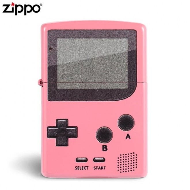 Pink Brick Game Model Zippo Lighter