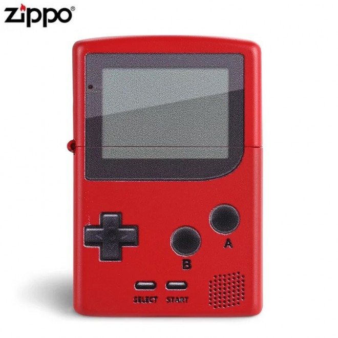 Red Brick Game Model Zippo Lighter