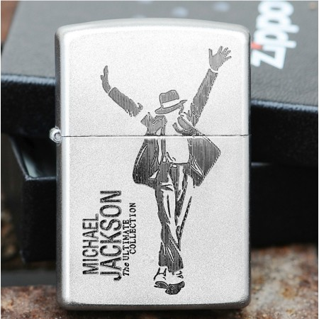 """Michael Jackson """"The Ultimate Collection"""" Zippo Lighter"""
