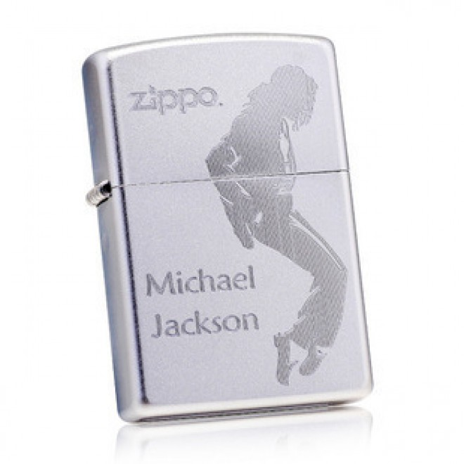 Michael Jackson 205 Engraved Zippo Lighter